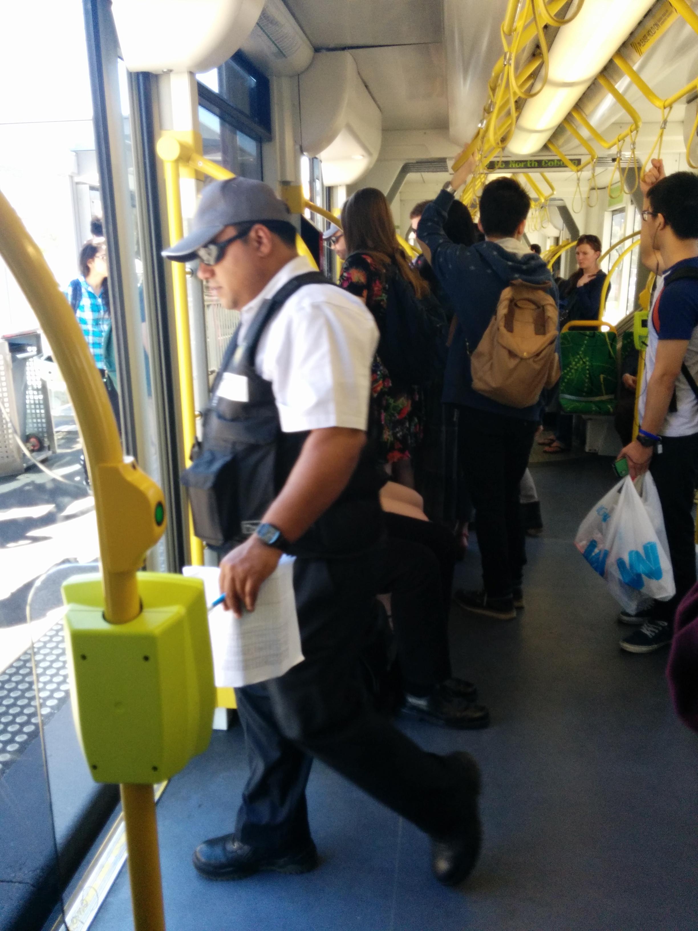 Elizabeth Street Tram Inspectors