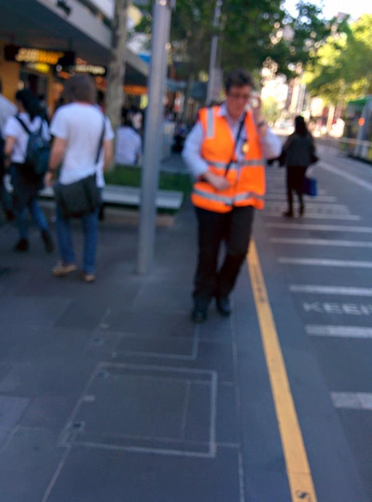 Melbourne Tram Inspector