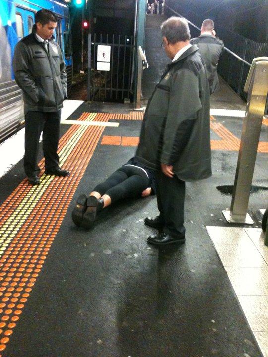 Melbourne Tram Inspector Incident