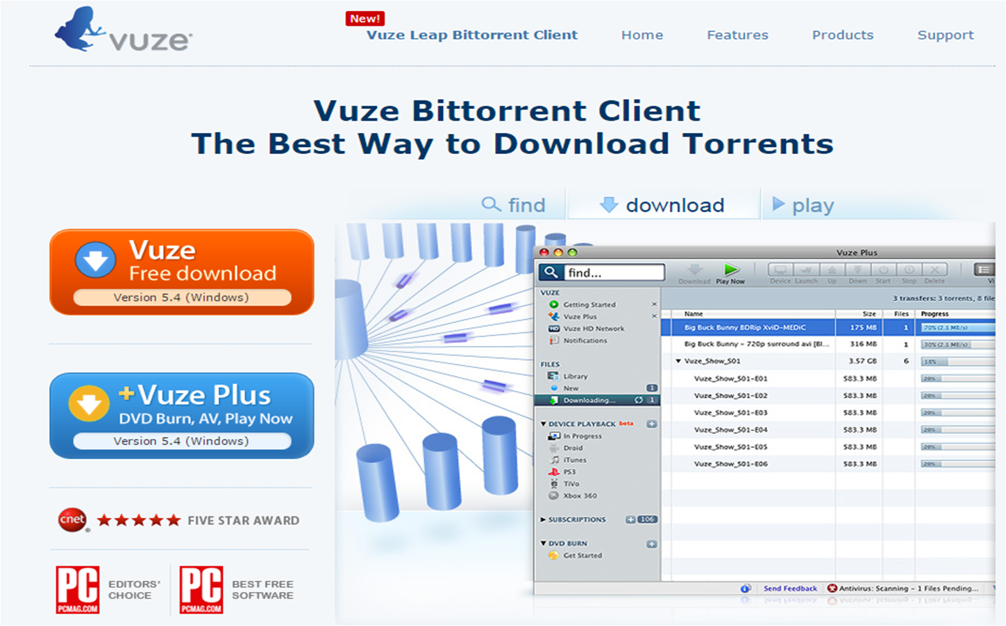 Vuze templates free download download templates for vuze for Best vuze templates