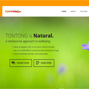 TonTong Ointment by Dynamic Kanguru Website