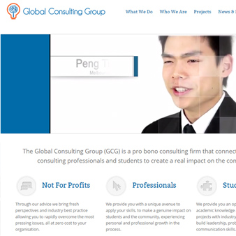 Global Consulting Group Website