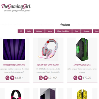 TheGamingGirl Brand and Programming